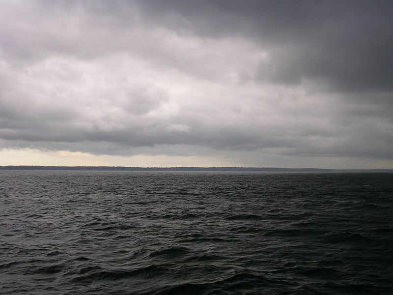 The sky on the way out of Bellingham on the Victoria Star 2