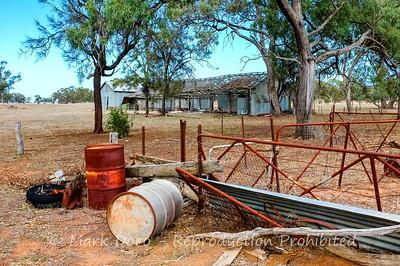 Farm scene, north of Little Desert, Victoria