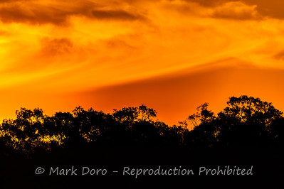 Mallee Sunset, Green Lake, Victoria