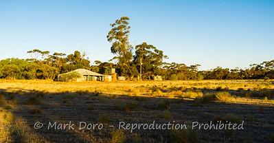 Abandoned farm house, Green Lake, Victoria