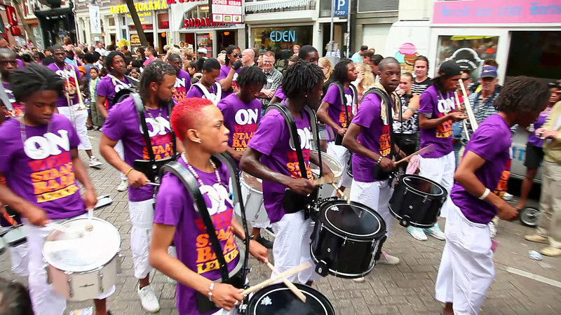 This was one of the better drumbands. They represent the Netherland Antilles