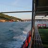 Bosporus, just passed the bridge. (duration: (00:27)