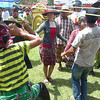 More dancing on the first day of the Madura Bull Races.