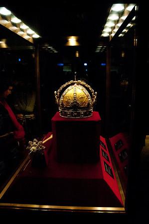 Crown of the Austrian Empire.  Made by Jan Vermeyen in Prague 1602.