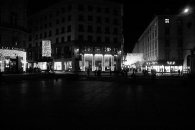 Shops near the Michaeler Plaza.
