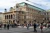 The Vienna grand opera house.