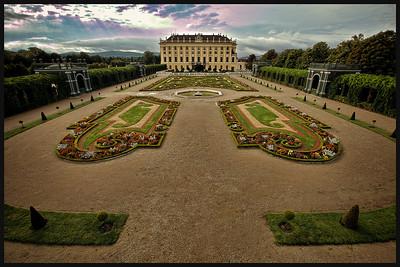 Schönbrunn Palace, Vienna Austria