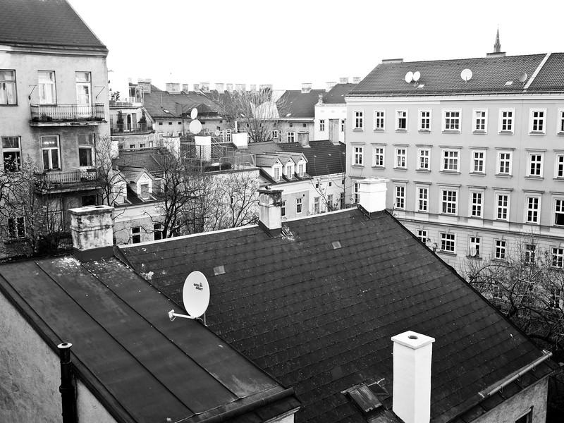 Vienna. Rooftops.