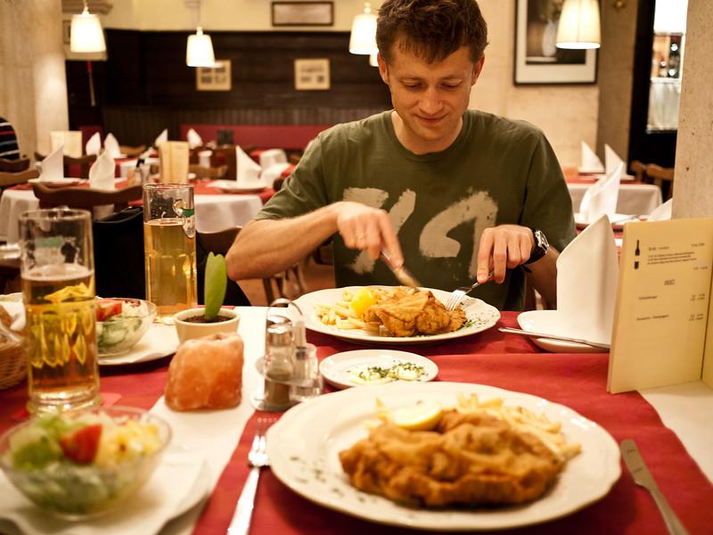 Vienna (Stan Schymanski and a schnitzel)