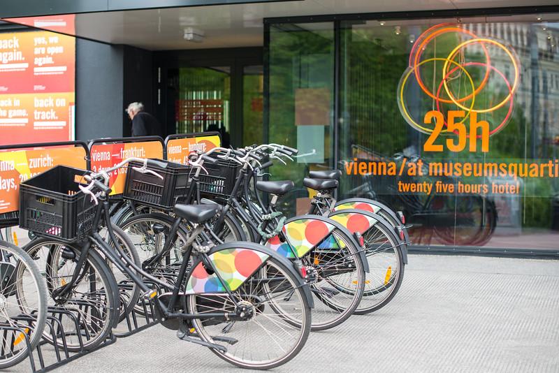25 Hours Hotel in Vienna
