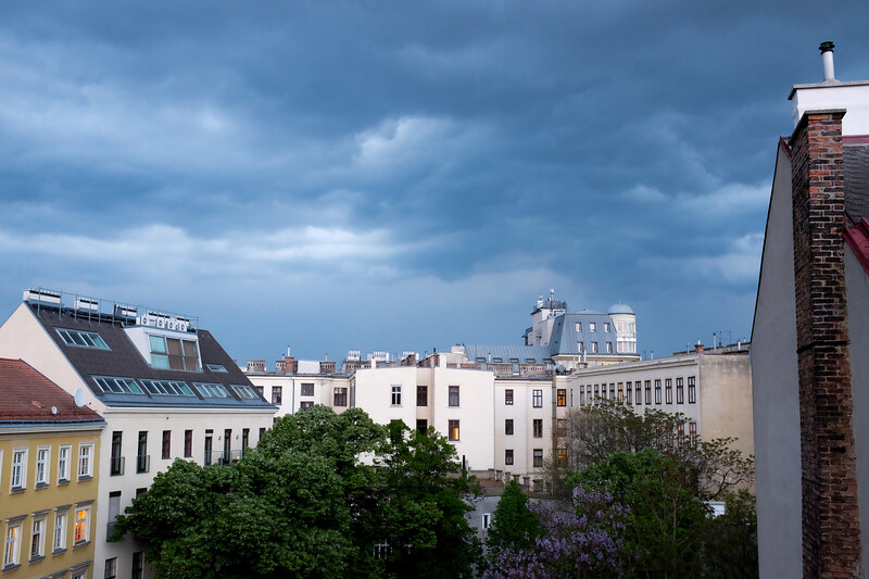 View from Apartment, Vienna