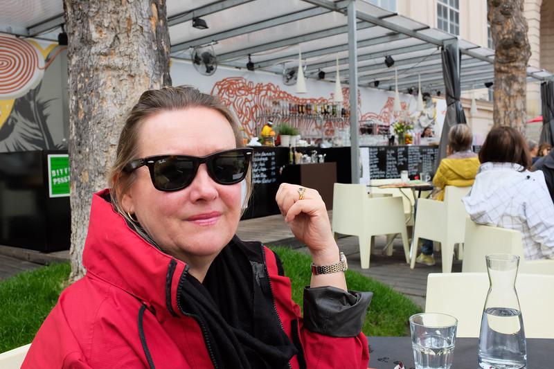 Lunch, Museumquartier, Vienna