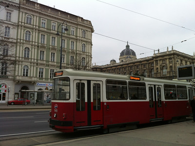 I'm not sure why I'm so fixated on Central European streetcars, but I really am fascinated by them.