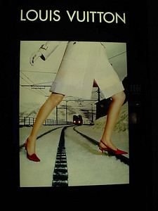 Advertisement for Swiss Railways