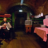 Pantry performance<br /> Restaurant musician at cellar restaurant by Albertinaplatz