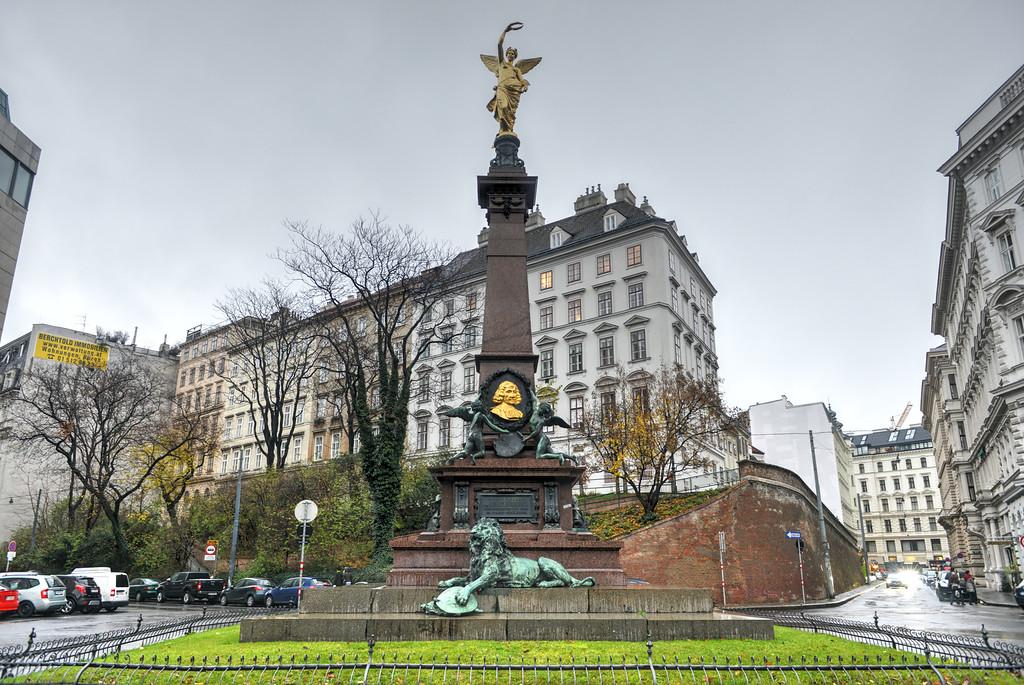 Monument for Johann Andreas von Liebenberg - Vienna, Austria