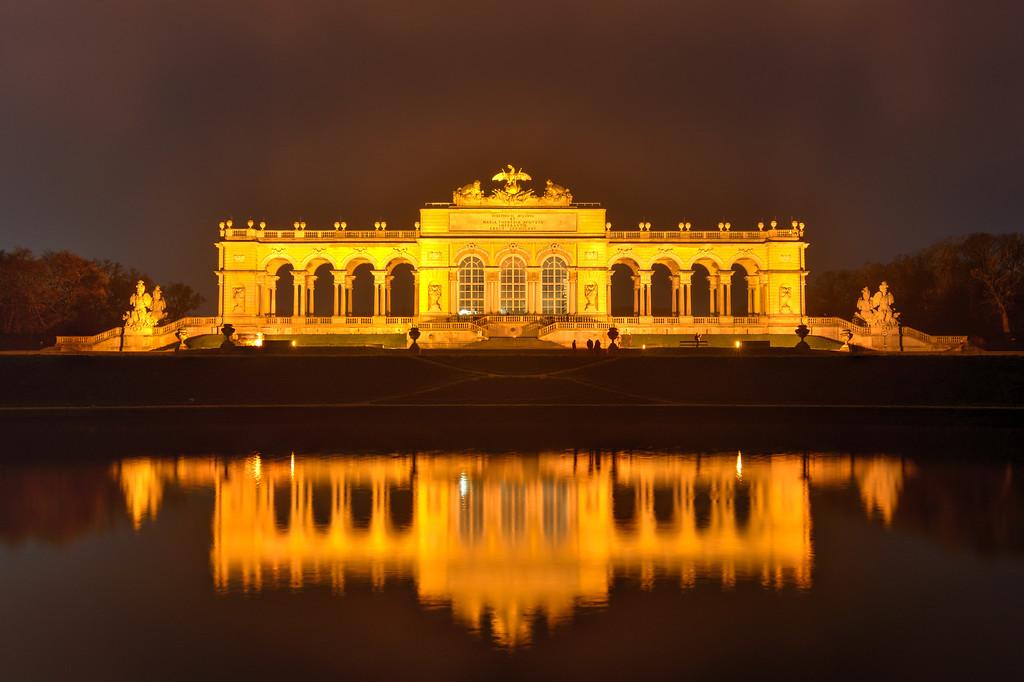 Gloriette in Schoenbrunn Palace Gardens - Vienna, Austria