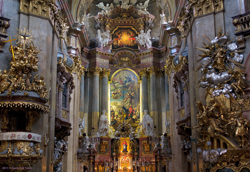 Baroque praise III<br /> Interiour, St. Paul church
