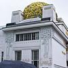 La Sezessione and umbrella<br /> Architect: Otto Wagner