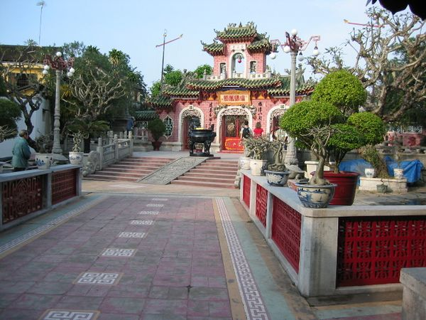 One of the beautiful Chinese temples in Hoi An, south of Da Nang City. Hoi An was for centuries a major trading hub for Viet Nam and China.