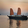 Anchored_for_night-HaLong_bay