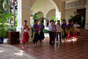 Welcoming committee at the Sofitel Angkor