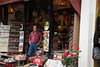 Hoi An shopkeeper waiting for business