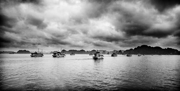 Slow Boats to Ha Long Bay