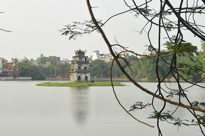 Hanoi, Tortoise Pagoda The pagoda is dedicated to the tortoise that gave general Le Loi (15th century) the sword to defeat the Chinese. Later the tortoise demanded the sword to be given back; when the sword was returned to the tortoise, the tortoise disappeared in this lake.