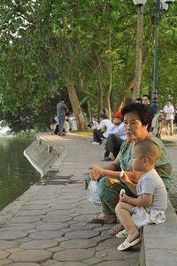 Hanoi, on the borders of Hoan Kiem Lake