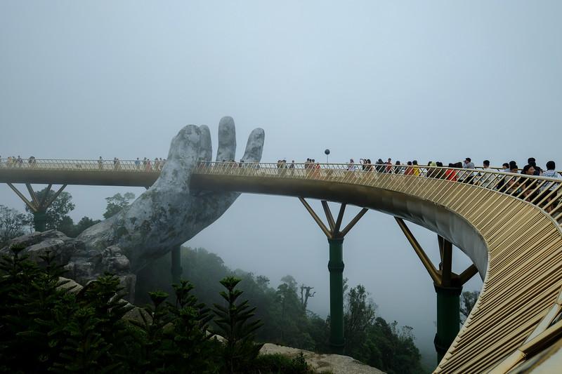 Golden Bridge at Ba Na Hills