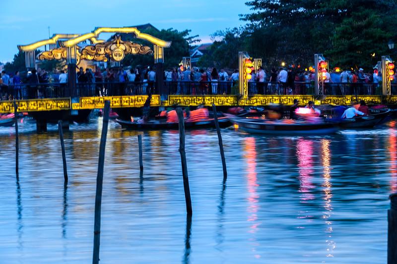Lanterns on the river