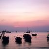 Pink sky in Vung Tau
