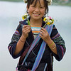 """Flower"" Hmong Girl with Wild Flowers"