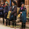 Hmong Hill Tribe Women Outside Market in Sapa Vietnam