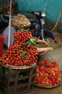 Ben Tre produce, photo courtesy Seikel Family