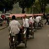 Hanoi, Rikshaw Men by Andrew
