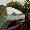 Sailing in Halong Bay