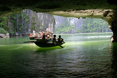 Ha Long Bay cave, courtesy Seikel Family