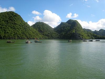 Ha Long Bay, Vietnam (photo courtesy of Mark Polishook)