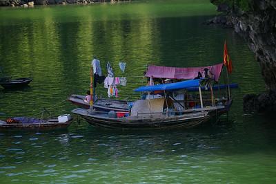 Ha Long boat family, courtesy Seikel Family