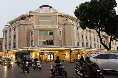 Tràng Tiền Plaza - upscale shopping in the heart of Hanoi-