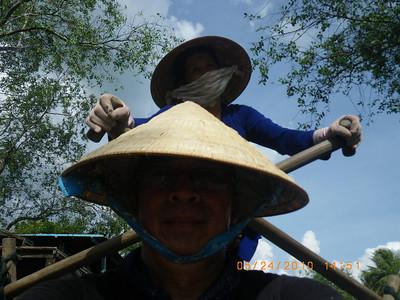 Vietnam- Mekong at Cai Be