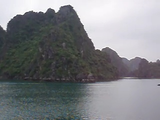 Ha Long Bay, Vietnam, is a World Heritage Site recognized by the United Nations for it unique natural beauty.