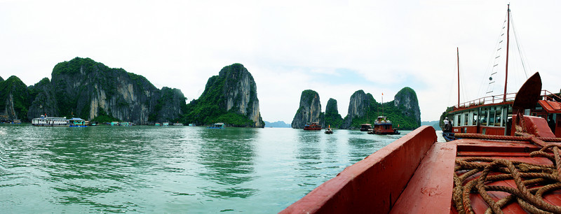 halong bay panoramic 1
