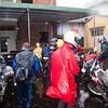 The photos have gotten a bit out of order, and I'll fix that later, but for now, this is the end of the trip.  We're dropping the bikes at the train station in Da Nang.  This was Monday morning, 9/28.  Little did we know that Typhoon Katsena was bearing down on Da Nang and Hoi An at this moment.