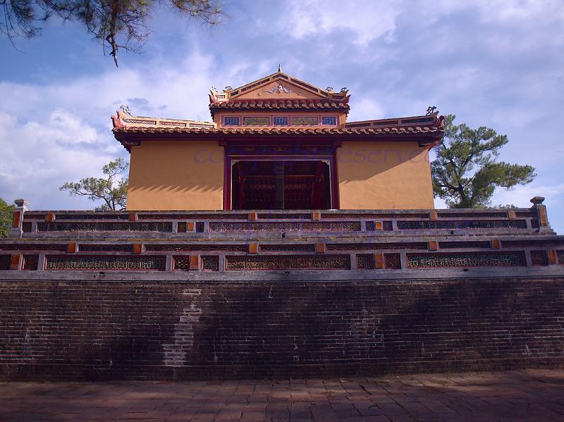 Vietnam HUE  Citadel tower