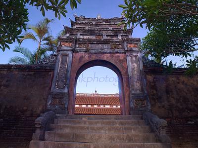 Vietnam HUE  Citadel inner sanctum