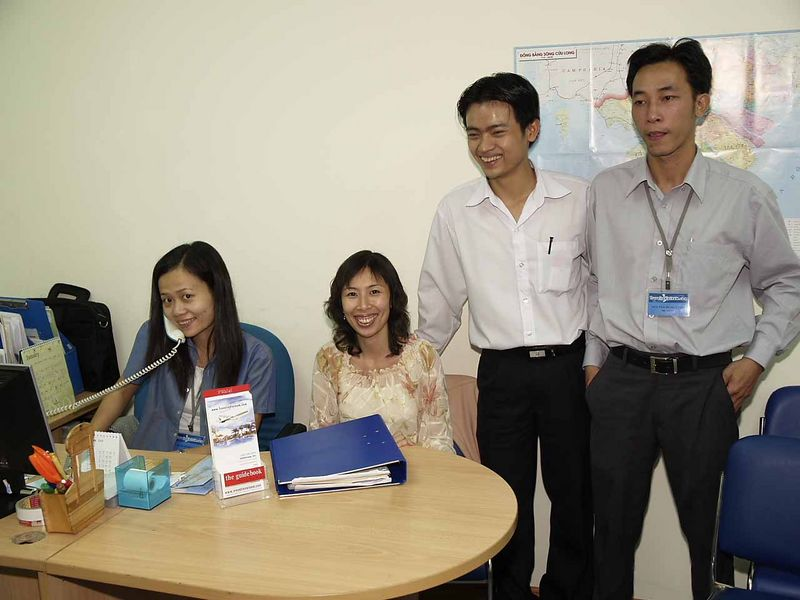 """Our Travel Agent in Saigon. They operate off the internet.  <a href=""""http://www.vietnamstay.com"""">http://www.vietnamstay.com</a>"""