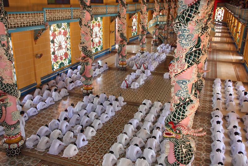 Cao Đài Temple, Tây Ninh, Vietnam